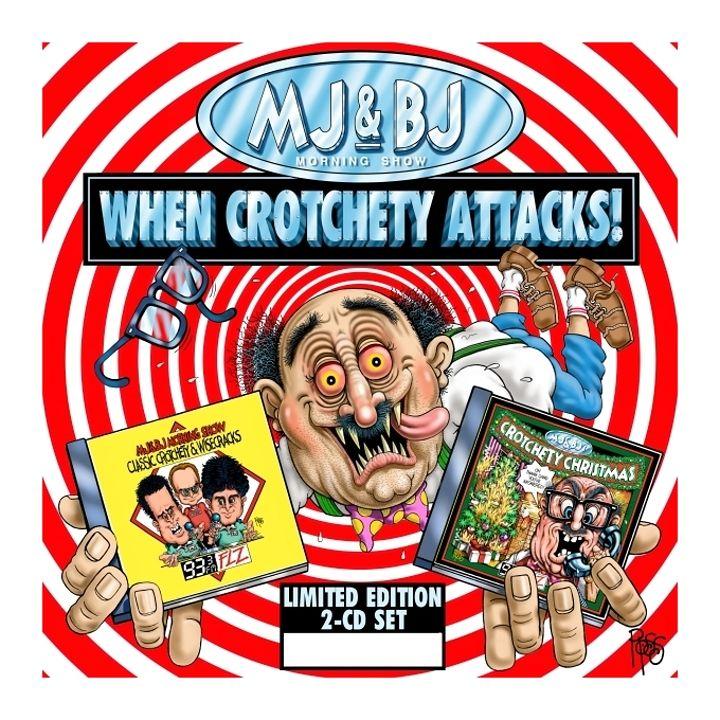 93 3 Flz Crotchety Old Man Morning Show Comic Book Cover Comic Books