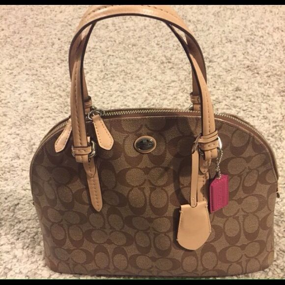 Authentic Coach Peyton Purse Bought It From A Posher But Haven