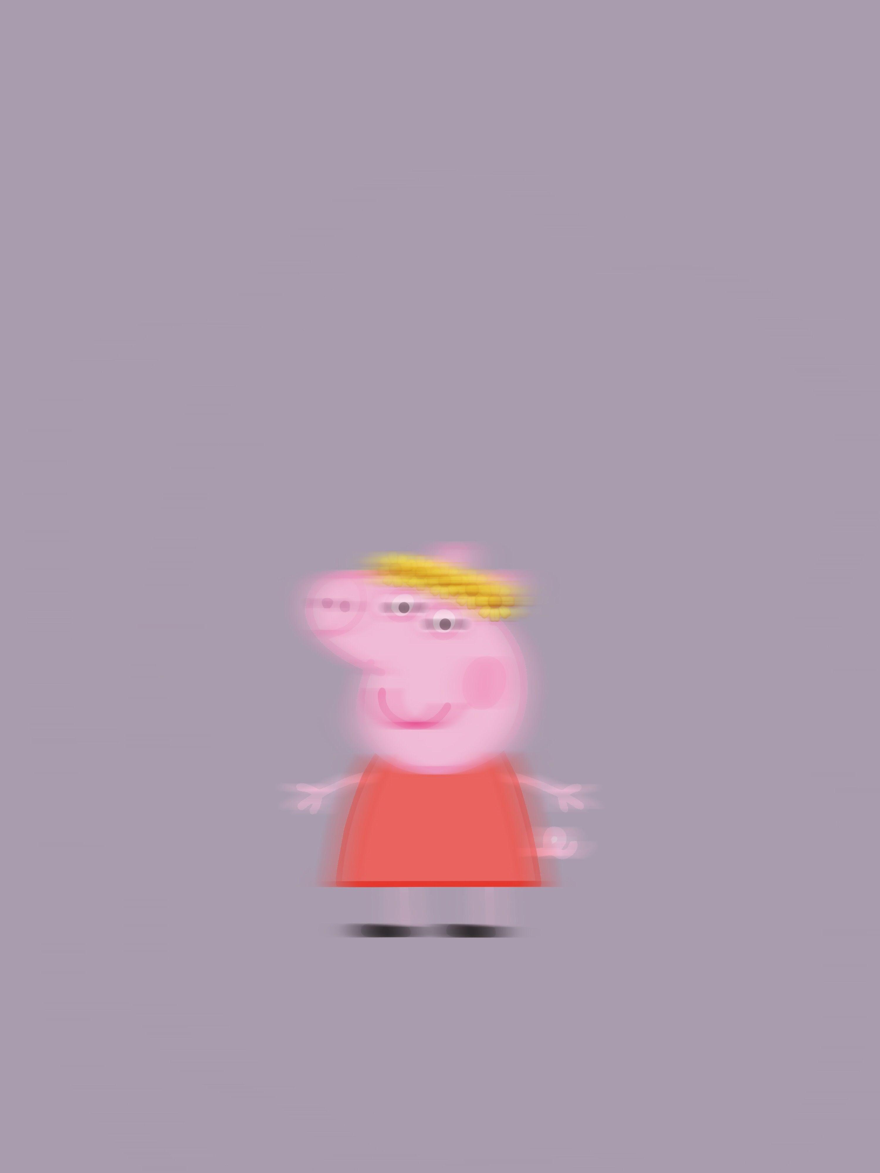 Peppa Pig Wallpaper Purple Sunflower Peppa Pig Wallpaper Pig Wallpaper Peppa Pig
