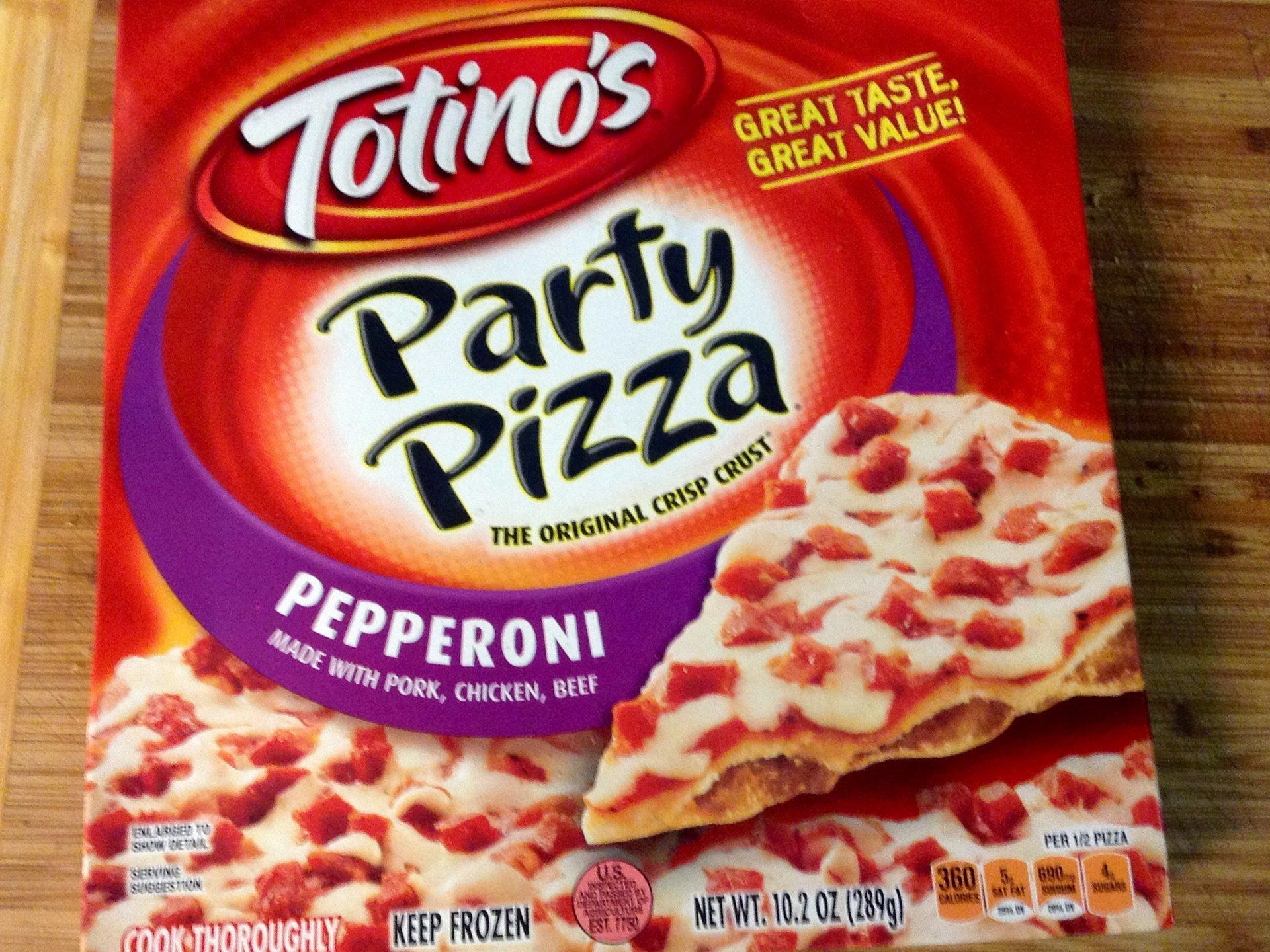 18 Frozen Pizzas That Are Better Than Delivery Grocery Foods Totino S Frozen Pizza
