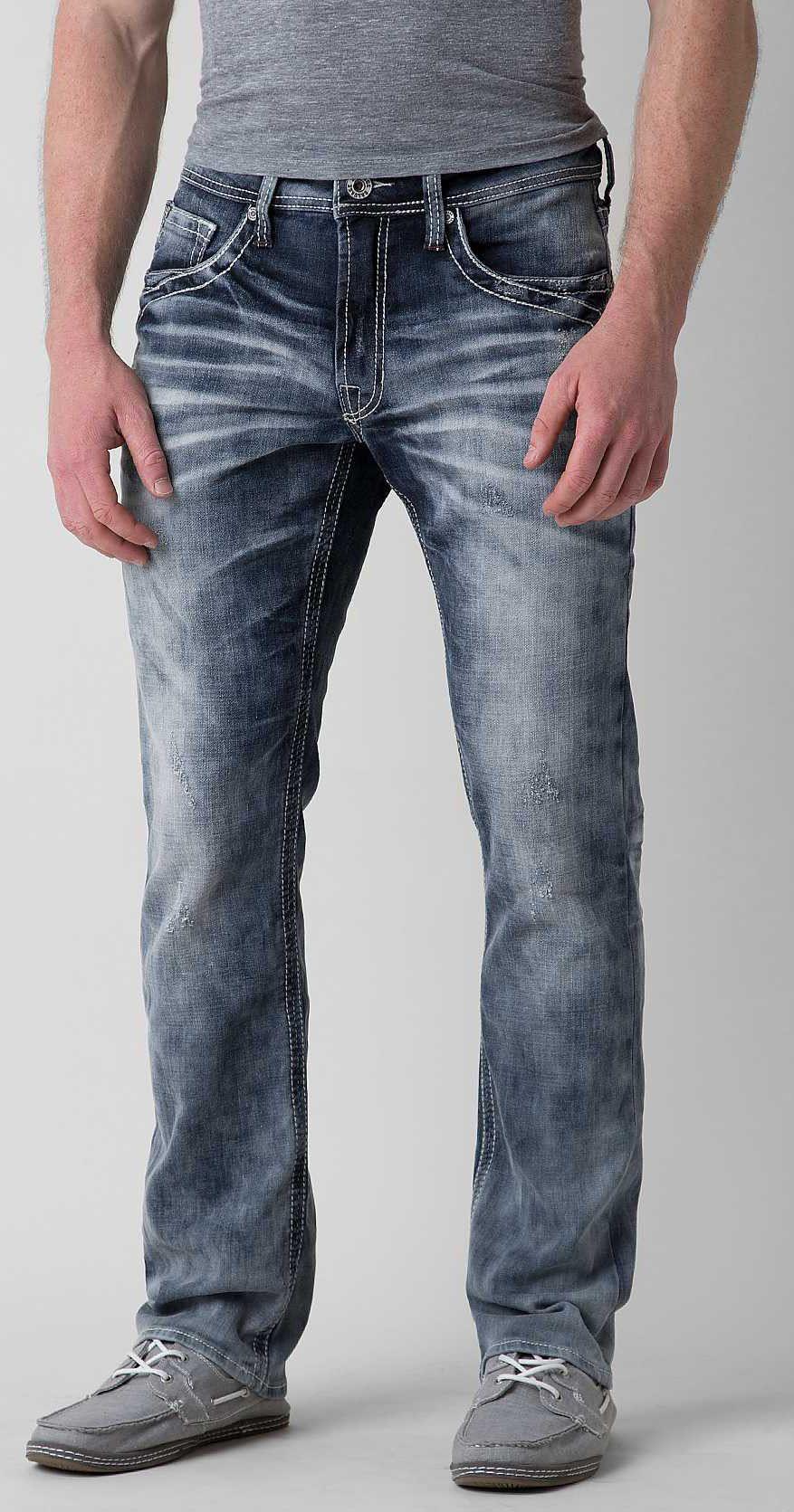 Buckle Back Jeans for Men