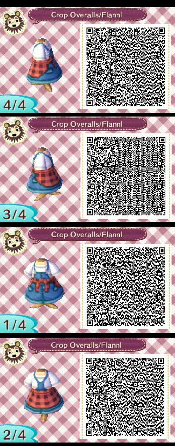 Jumpsuit with shirt tied at the waist – #acnlqrcodes – New Ideas   #acnlqrcodes …