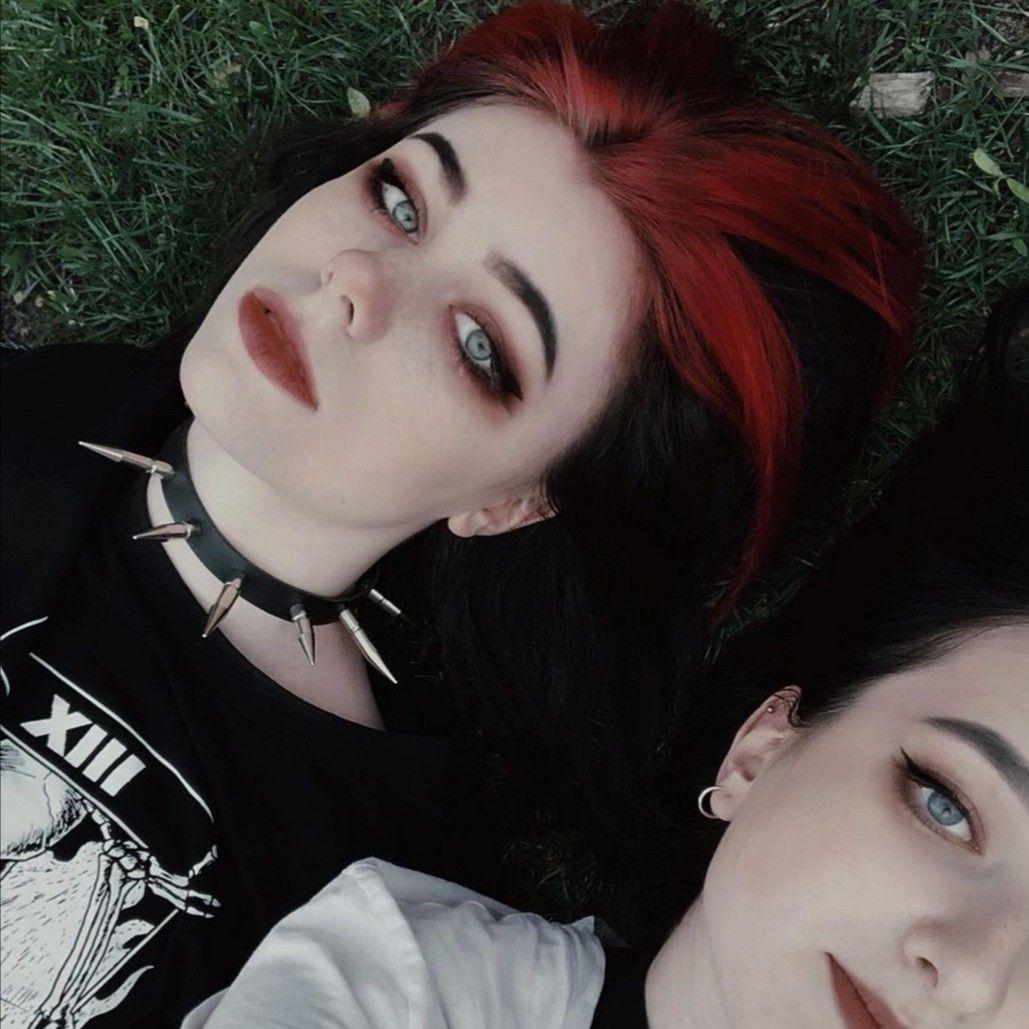 Doomed In 2020 Edgy Makeup Alternative Makeup Grunge Hair