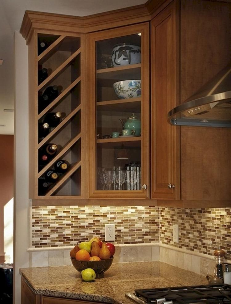 Wine Cabinet Decor 25 Gorgeous Small Corner Wine Cabinet Ideas Winecabinet Decor Kitchen Cabinet Wine Rack Kitchen Rack Design Built In Wine Rack