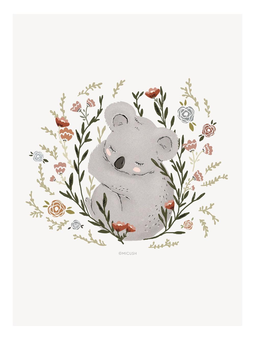 картинка коала с лисой органы долго хотели