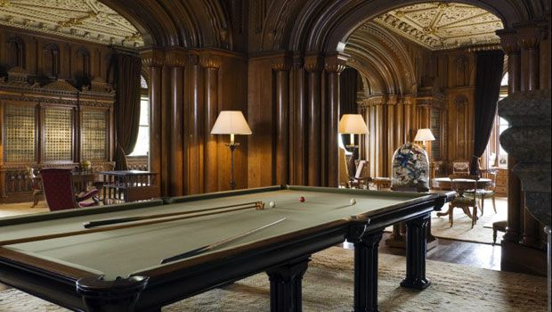 Penrhyn Castle English Country House Billards Room Home Libraries
