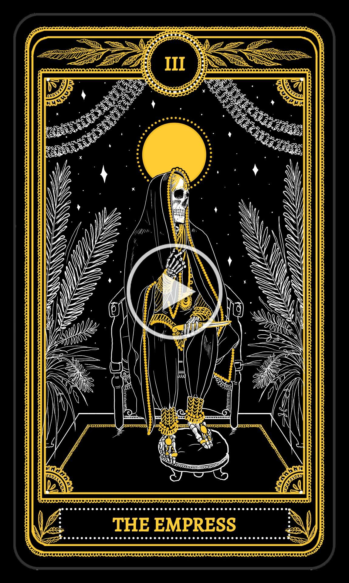 Empress in 2020 tarot cards art empress tarot card