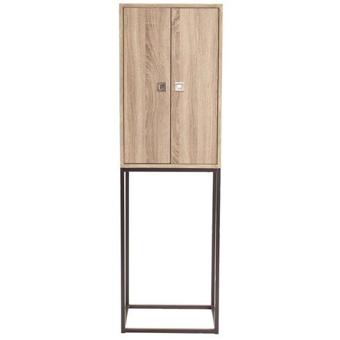 amani wood 2 doors accent cabinet