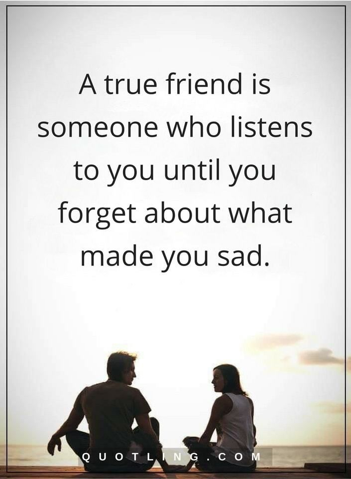 True Friend Quotes Adorable Friendship Quotes A True Friend Is Someone Who Listens To You Until