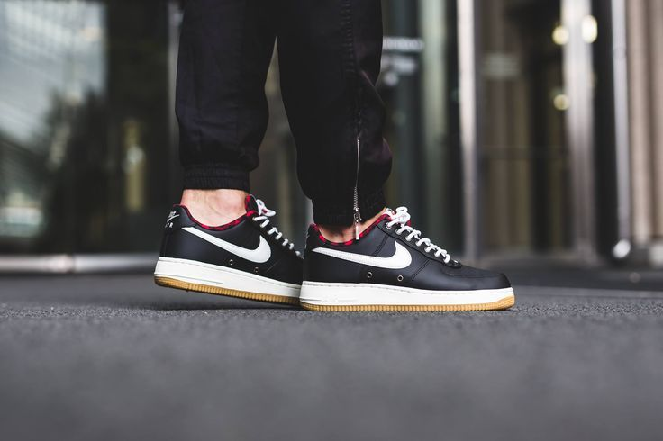 nike air force 1 mid black&white gum janoskians shirtless baseball