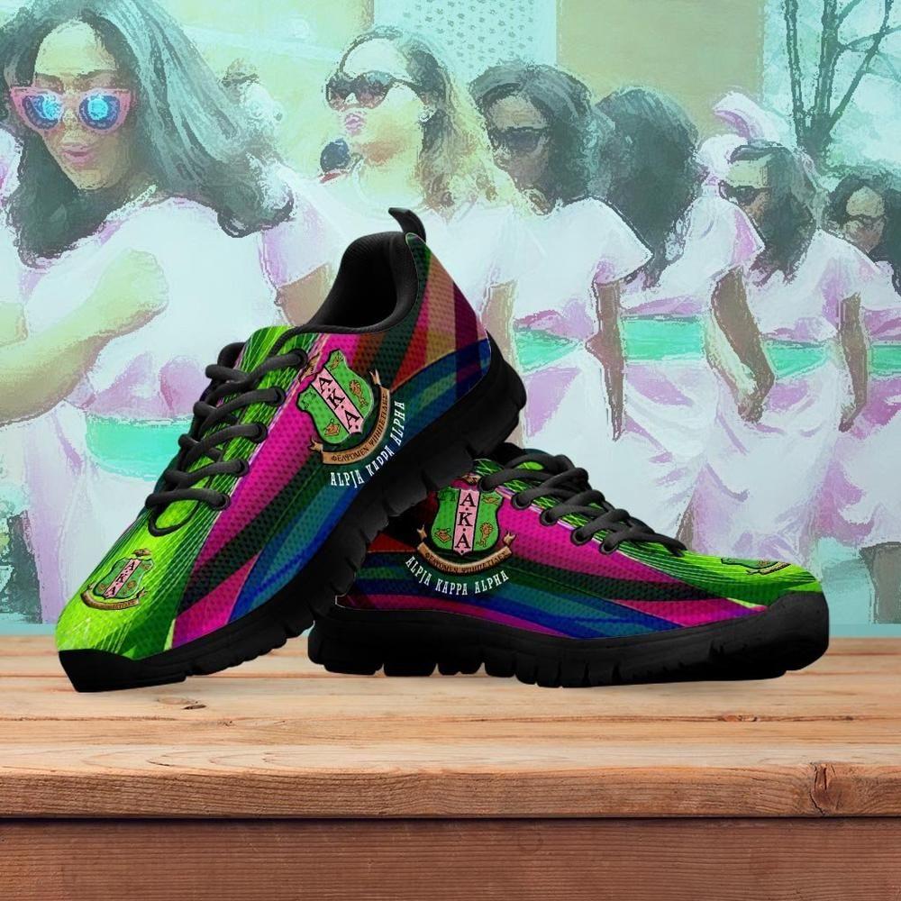watch 14bdc cb025 buy Women s Alpha Kappa Alpha Runners Shoes online