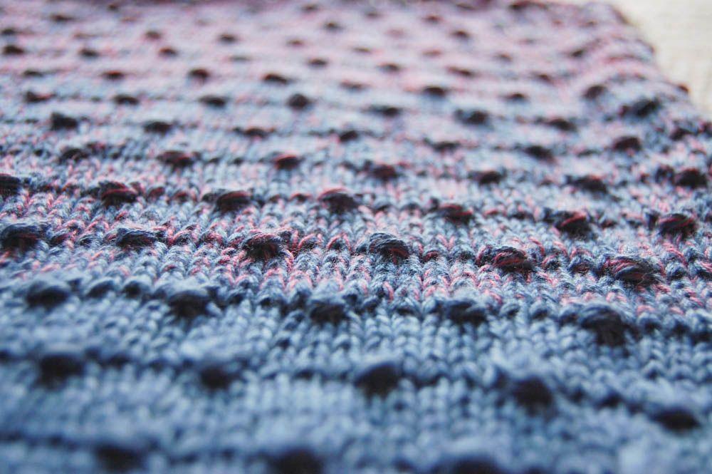 Photo of ▷ Anleitung: Schal stricken mit Estonian Button Stitch | sockshype.com