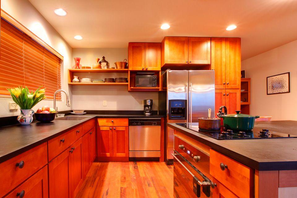 cocinas integrales,carpinteria residencial,corian,puertas de madera - cocinas integrales modernas
