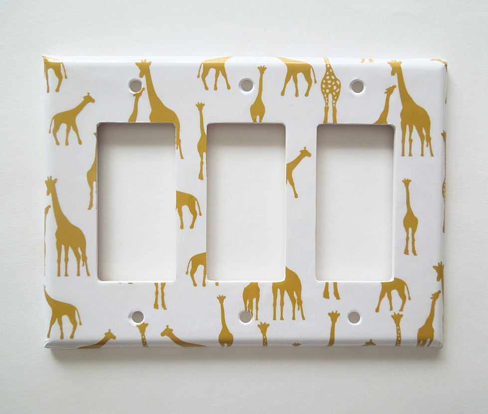 Giraffe Switchplate Cover Decor Switch