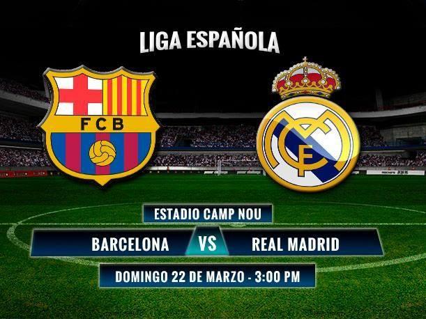 Barcelona vs Real Madrid, transmisión en vivo por DirecTV Sports