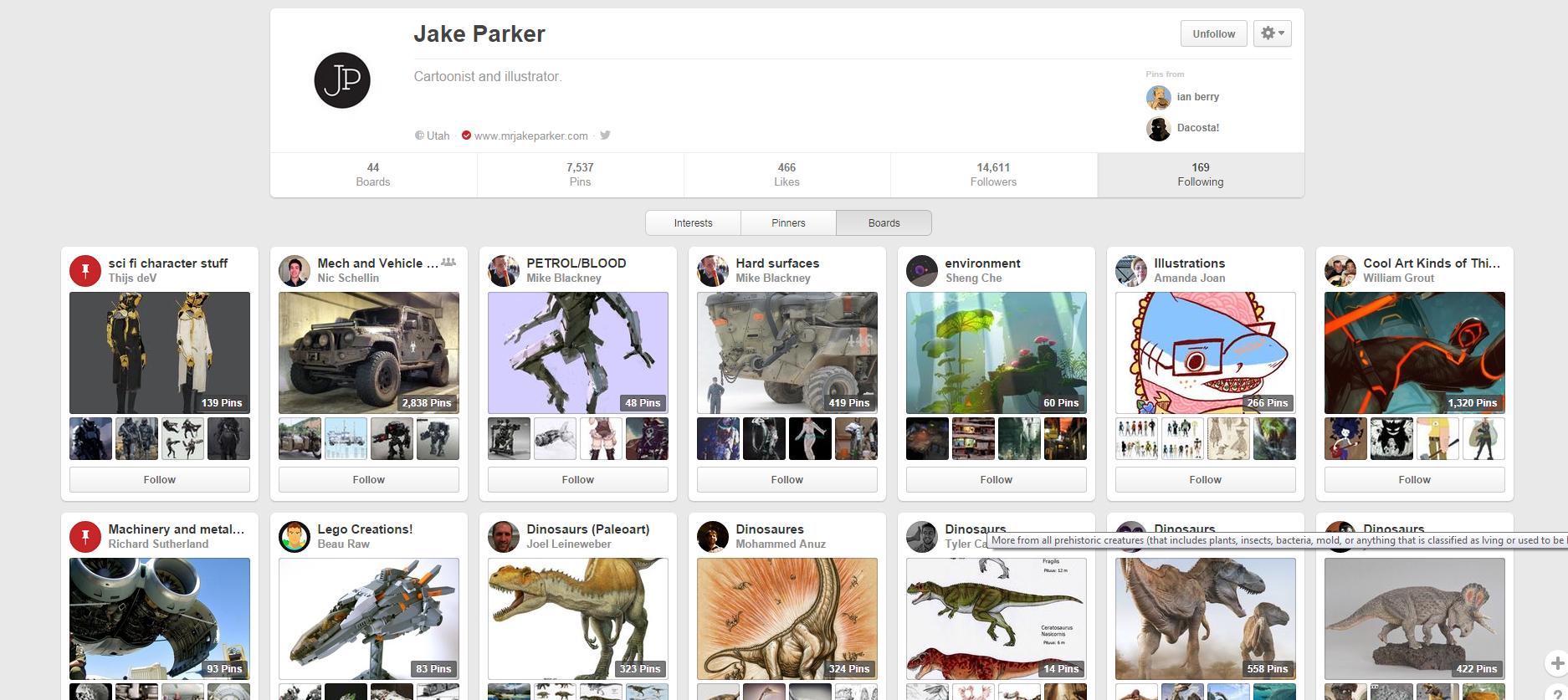 Jake Parker Follows http://www.pinterest.com/mrjakeparker/following/