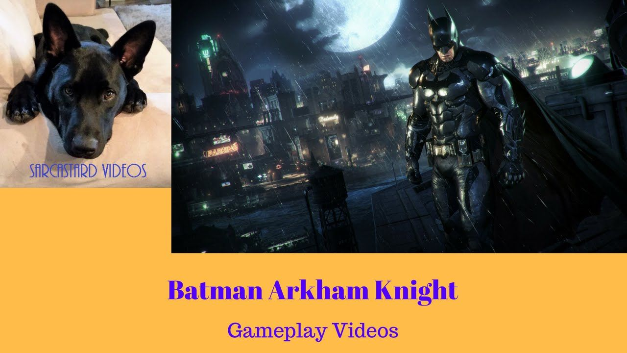 Batman Arkham Knight Gameplay Video On Ps4 Part 3 Batman