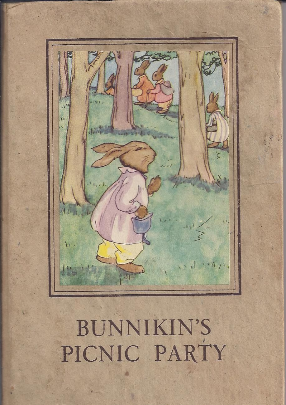 Libros Infantiles Antiguos Bunnikin S Picnic Party 1940 Wills Hepworth Ltd Loughborough