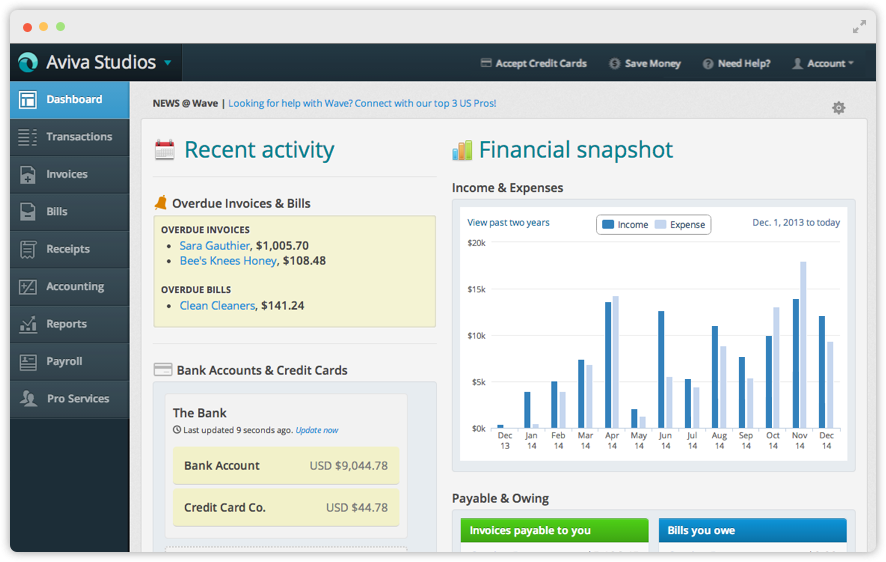 17 Best ideas about Wave Accounting on Pinterest   Small business ...