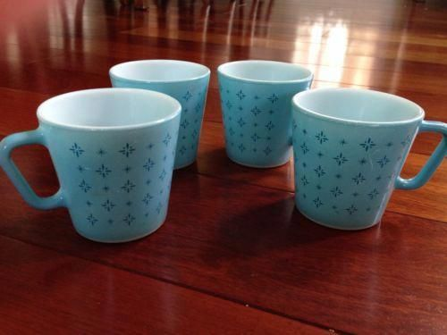 Vintage Pyrex Coffee Mugs The Table Glcoffeemugs