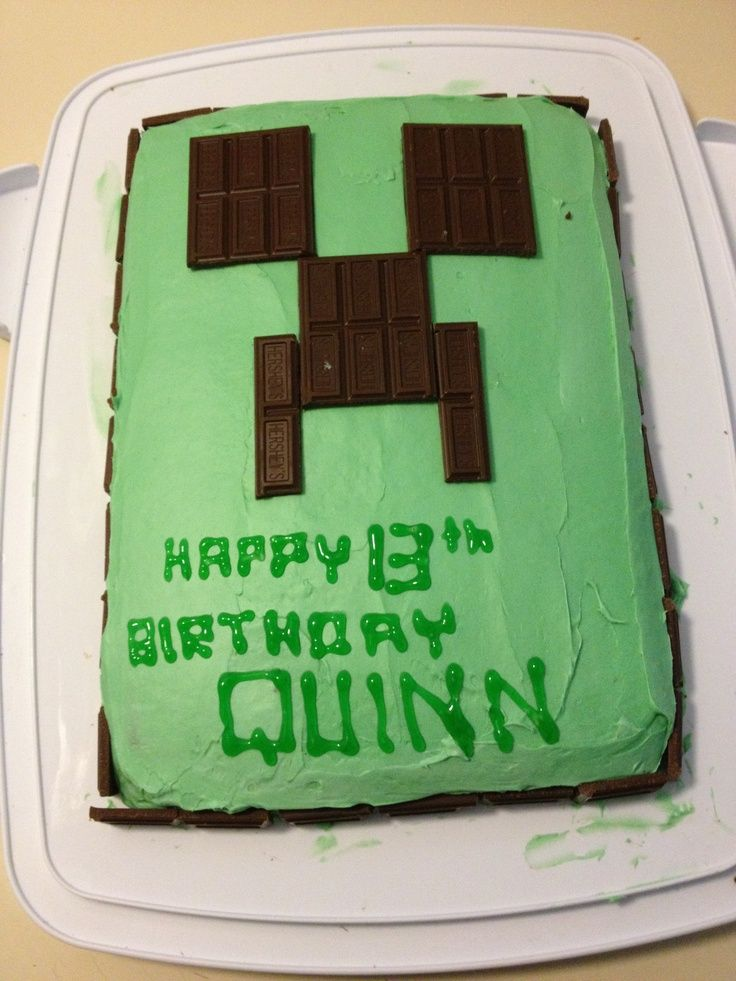 minecraft creeper face cake nV41lf0N Cakes Cookies Pie Oh My