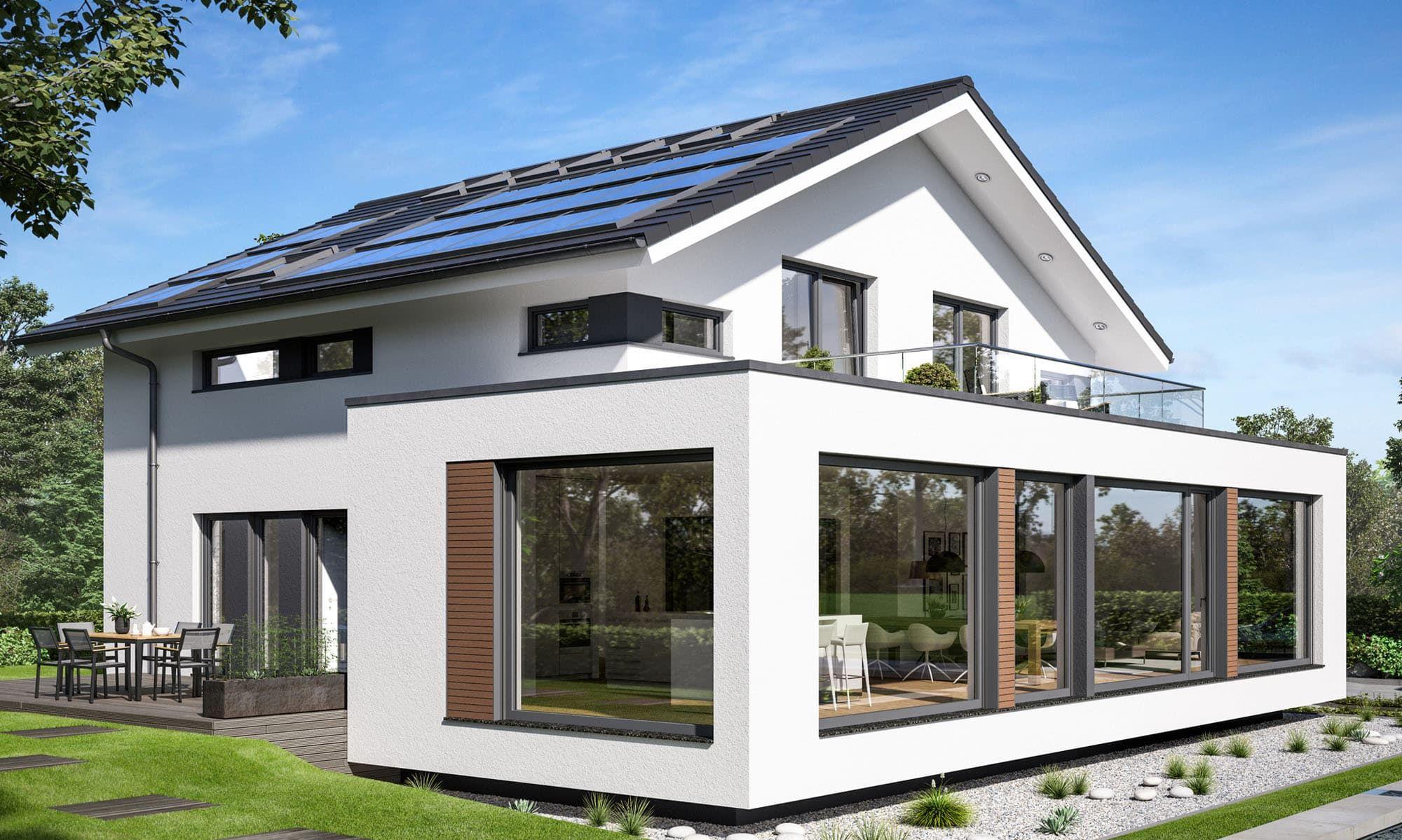 BienZenker CONCEPTM 210 Günzburg Haus, Modernes haus