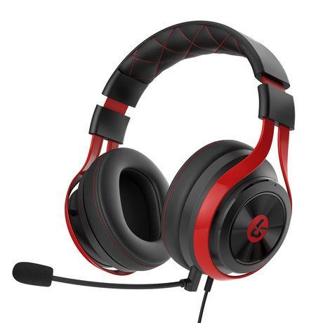 Lucidsound Ls25 Esports And Pc Gaming Headset Black Red Best Gaming Headset Headset Gaming Headset