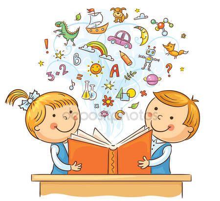 Baixar crian as lendo um livro juntos ilustra o de for Planimetrie gratuite della casa del campione