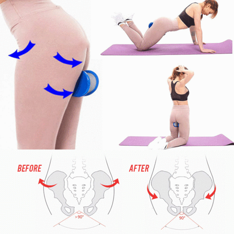 Hips Trainer 😍One minute per day 💞 Lift and Reshap