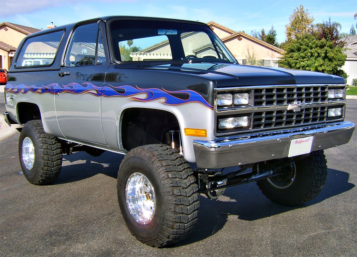 1973 Chevy Blazer K 5 Fully Restored Custom W 91 Front Clip 350