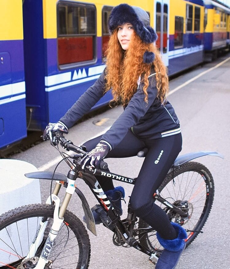 Redhead And Bikes