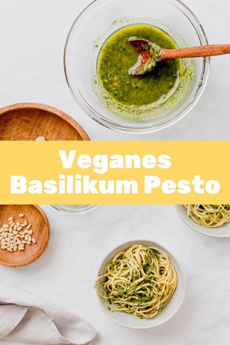 Basilikum Pesto Vegan