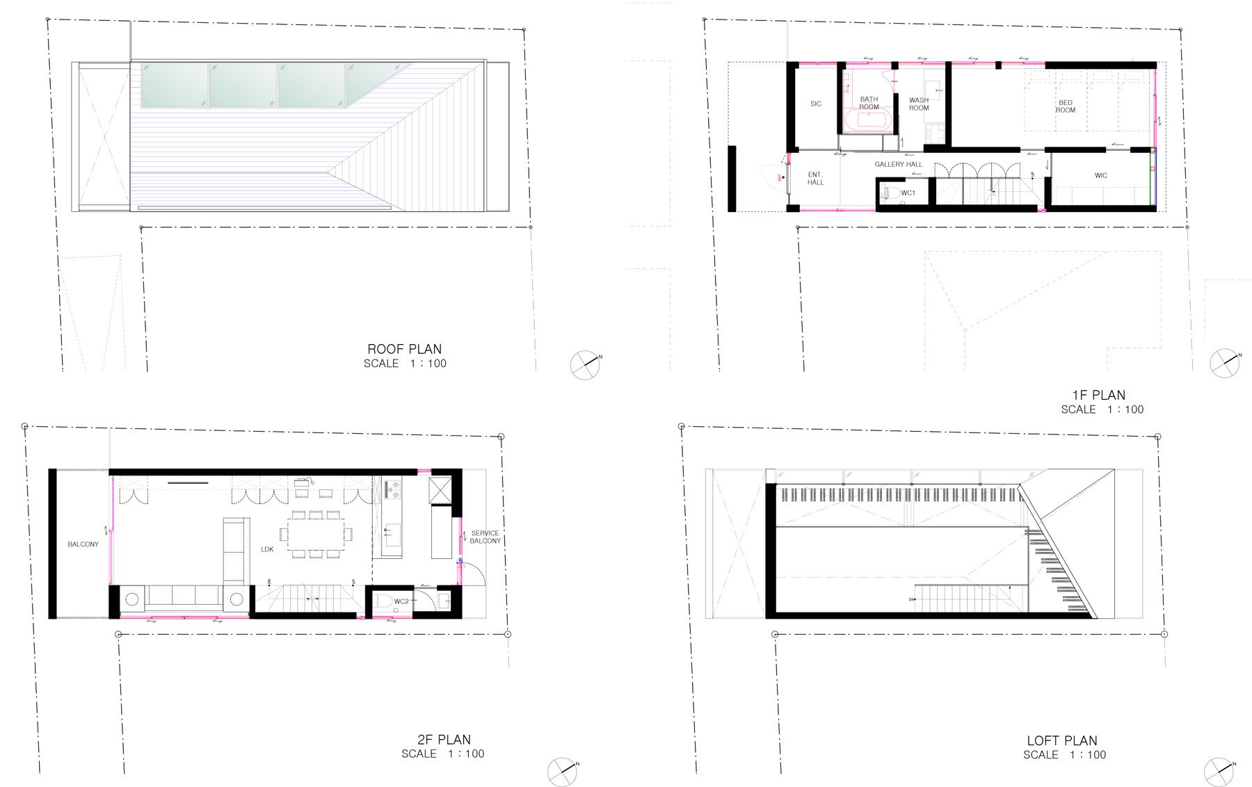 New Build Minimalist Nord House Ground Floor First Loft