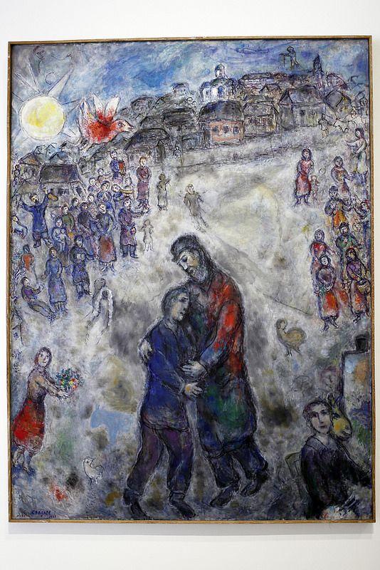 Chagall_20160928_042 | Landerneau en Finistère. Fondation Le… | Flickr |  Marc chagall, Chagall paintings, Chagall