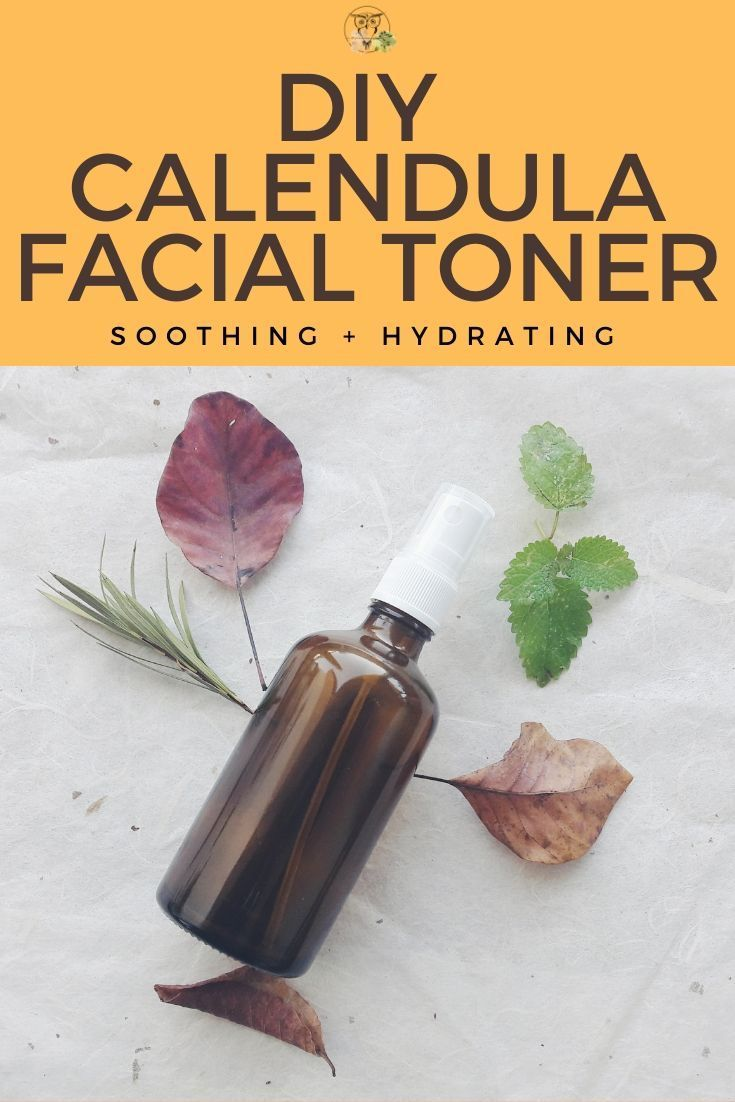 DIY Calendula Facial Toner With Lemon Balm is part of Diy facial toner, Facial toner, Natural skin care routine, Natural beauty diy, Toner for face, Nontoxic skincare - Wild morning to you all! Cold season is here and so are dry skin, harsh weather, and cold winds  To nourish the skin during this sensitive time of the year,… Read More