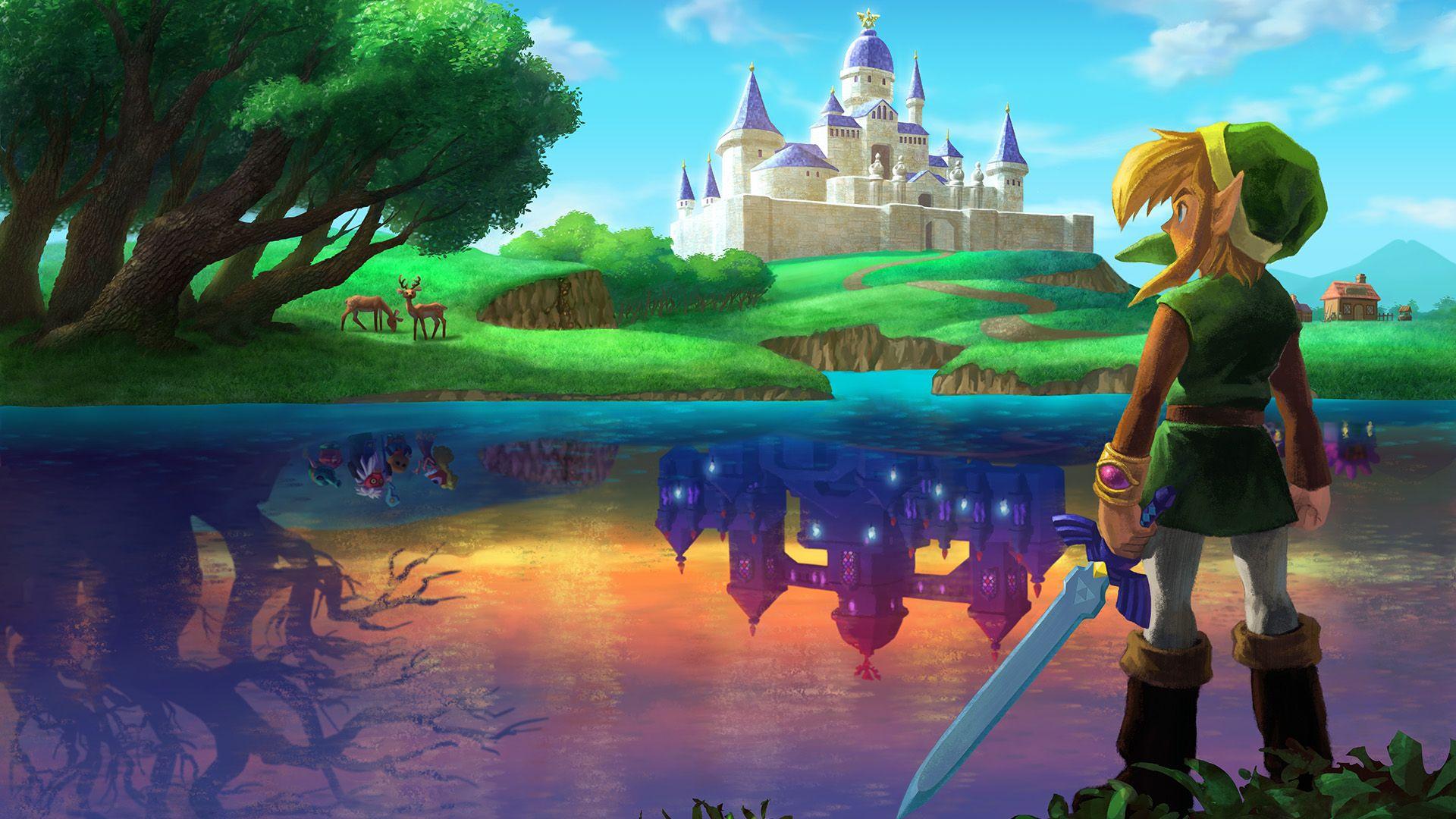 The Legend Of Zelda A Link Between Worlds Official Hd Wallpaper Zelda Albw 3ds Nintendo Legend Of Zelda Legend New Zelda