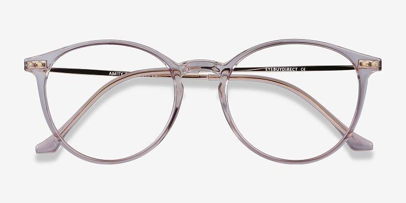 Amity - Sheer Violet Frames with Fresh Feel   EyeBuyDirect