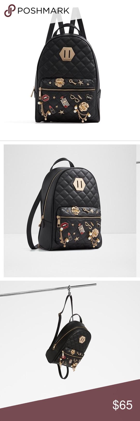40c664218cf8 BRAND NEW ALDO BOOKBAG WITH CHARMS Brand new beautiful aldo book bag a good  size with charms