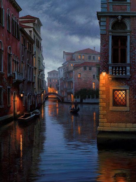 Photo of Venice Scenes by Artist Alexei Butirsky