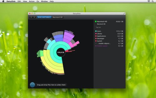 Free up your harddrive space quick and easy with DaisyDisk