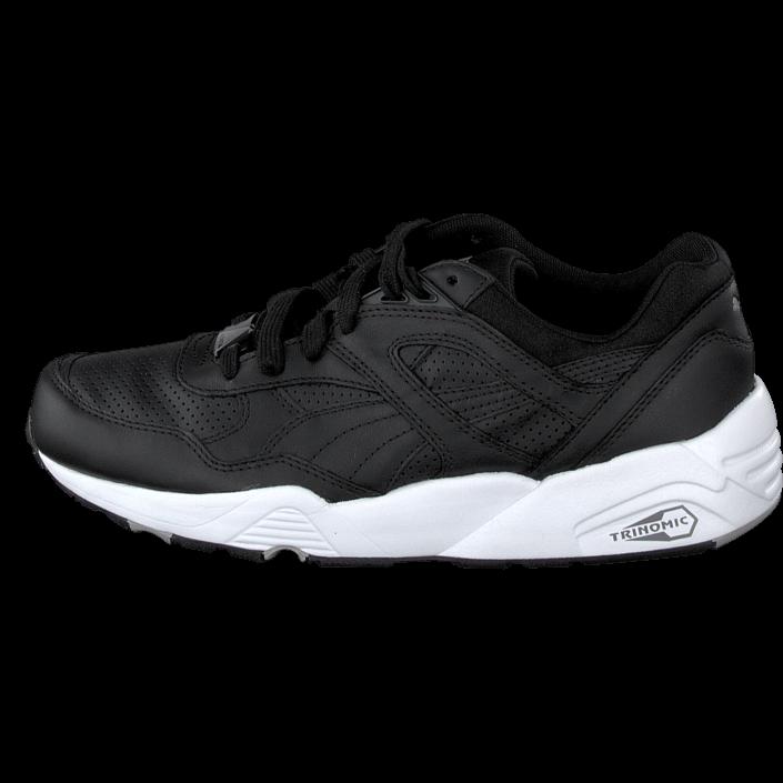 Køb Puma R698 Leather Black  d2741dac78