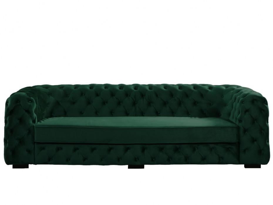 3 Sitzer Sofa Chesterfield Samt Stanley Tannengrun Kaufen Sofa 3 Sitzer Sofa Sessel Mit Hocker