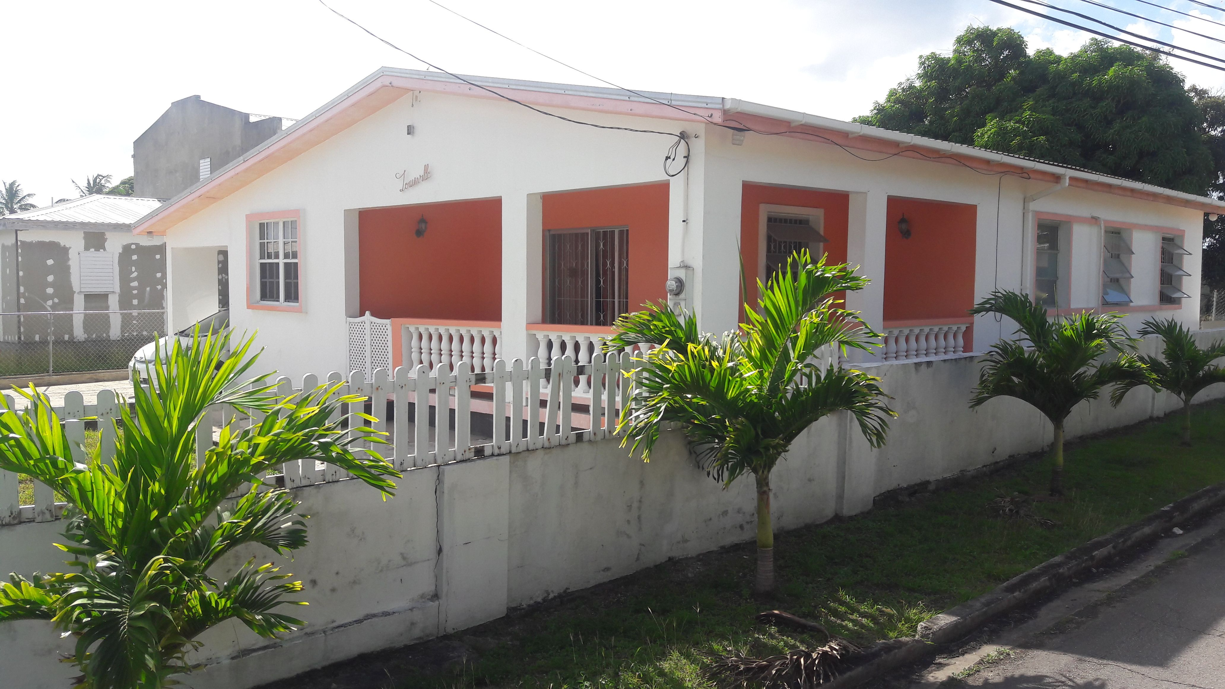 For Sale Grazettes St Michael Barbados 3 Bed 2 Bath House