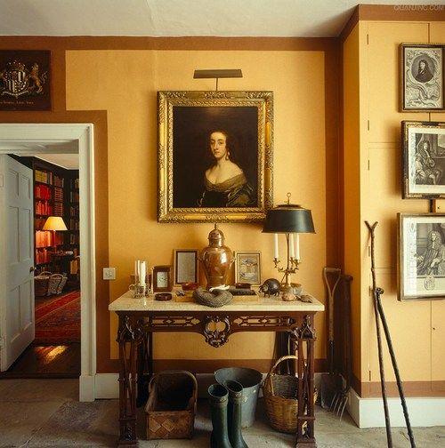 David Dangerous Entrance Hall Victorian House: Decordesignreview: Entry In Iconic Designer David Hicks