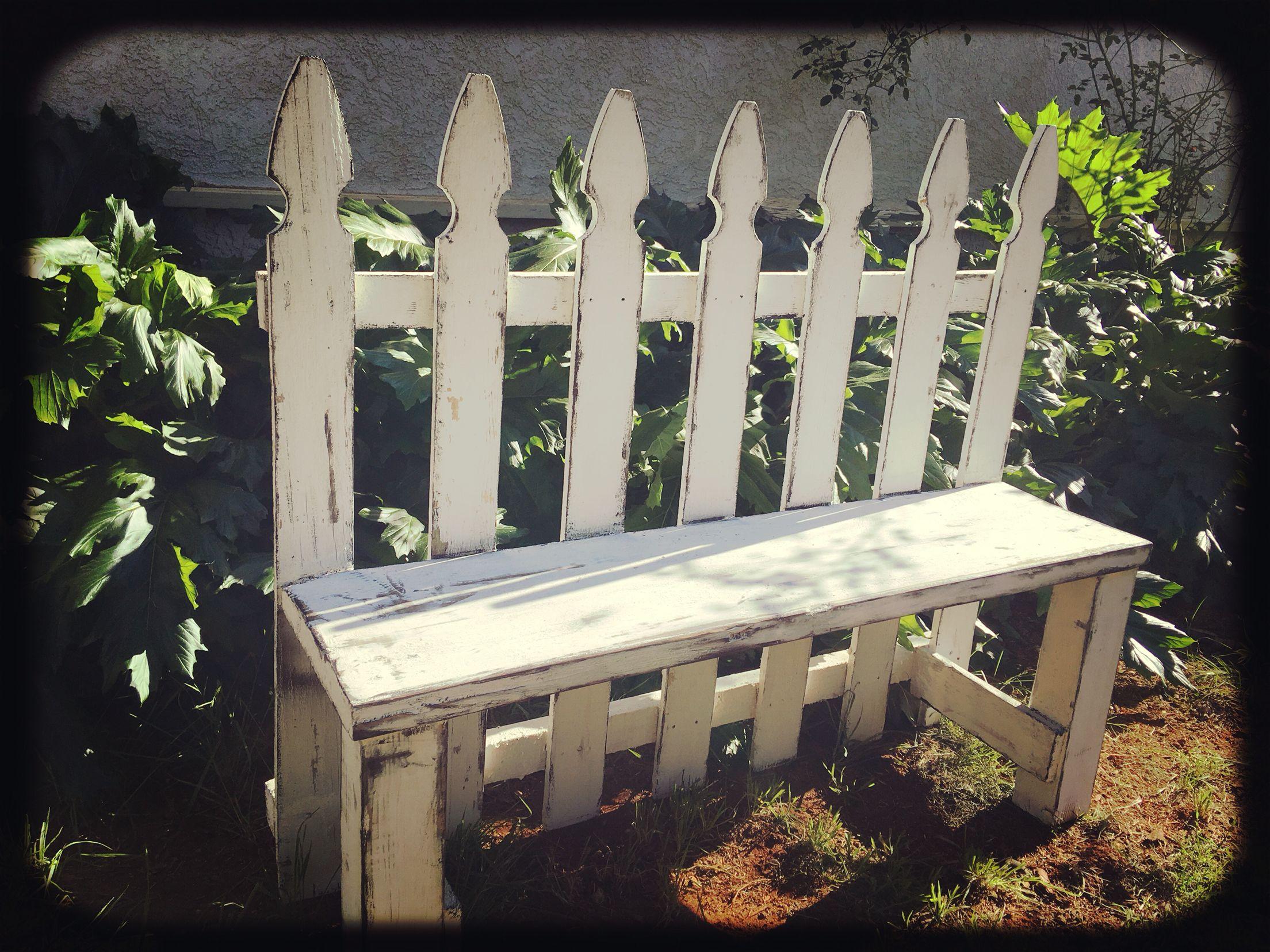 fence decor backyard garden