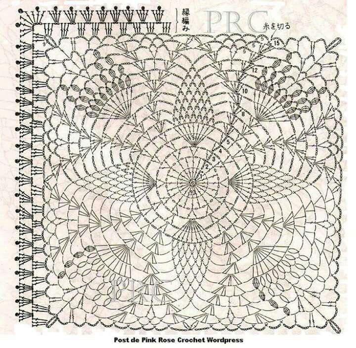 Pin By Terry Pryce On Crafts Pinterest Crochet Blocks Free