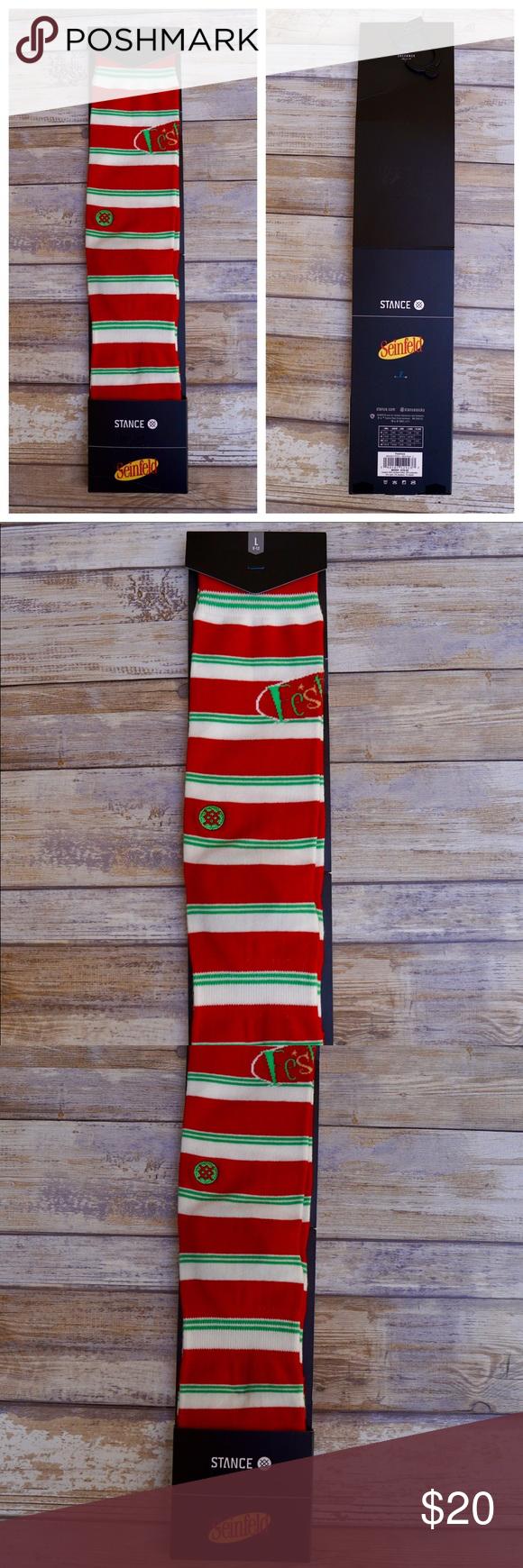 Stance Festivus Crew Socks Size L 9-12