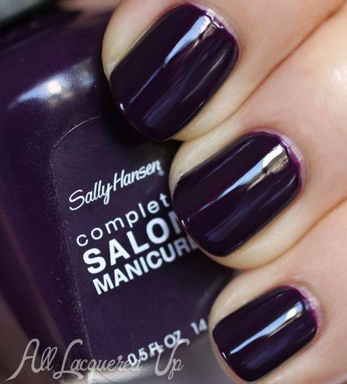 **Sally Hansen [CSM] - Malbec (Tracy Reese for Sally Hansen Complete Salon Manicure L.E. Collection Fall 2013) / AllLacqueredUp