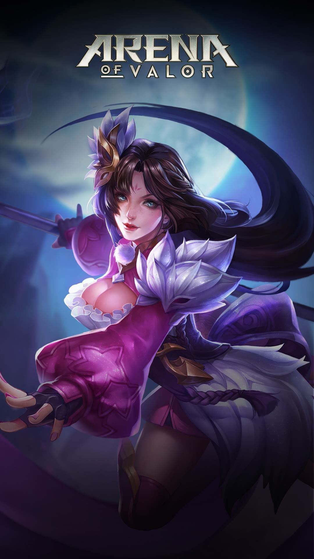 Diao Chan Mobile Legends Pvp Wallpaper Art Gaming Wallpapers Game Character