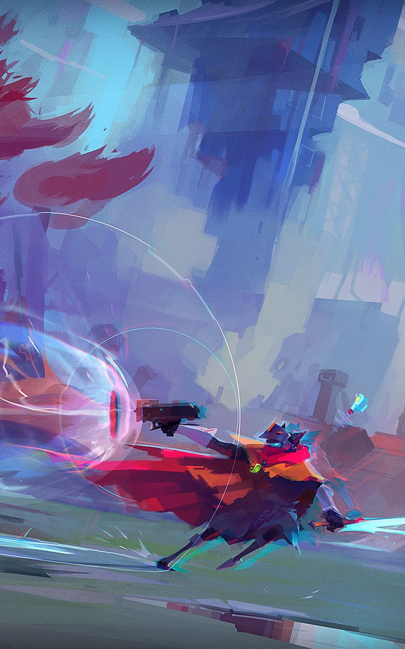Hyper Light Drifter Indie Game Art Concept Art Environment Concept Art